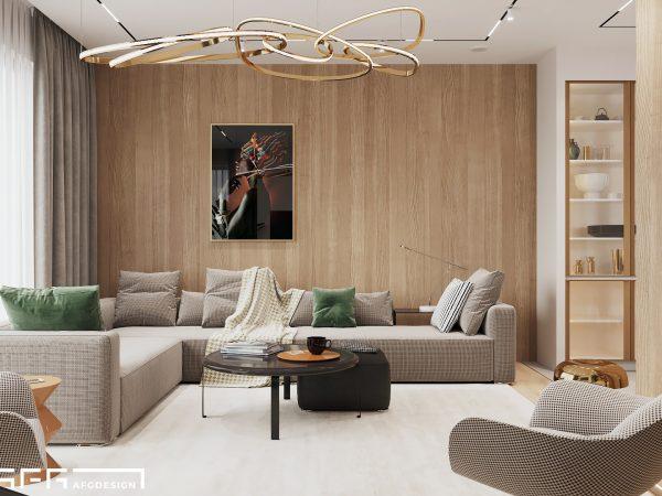 Дизайн интерьера квартиры в современном стиле в ЖК Well House