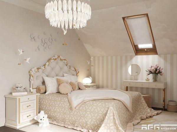 Дизайн интерьера дома в подмосковье в современной классике