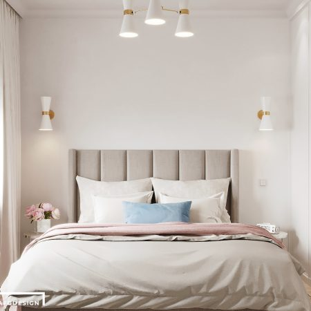 Дизайн интерьера однокомнатной квартиры в современном стиле